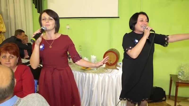 Музичне привітання від тіток нареченого. Весілля Владислава Інни. 1 жовтня 201