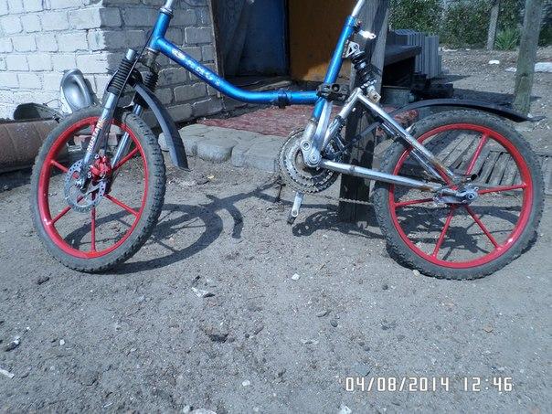 Тюнинг велосипеда аист своими руками 76