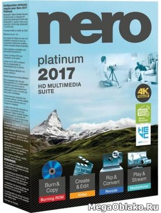 Nero 2017 Platinum 18.0.00300 [22.11.2016] (2016) PC | RePack by KpoJIuK