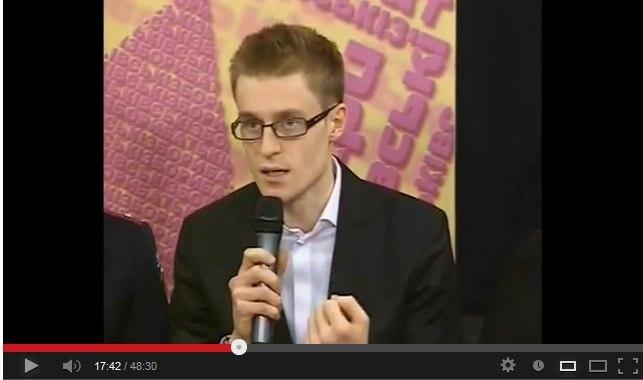 Иван Будько на ТВ