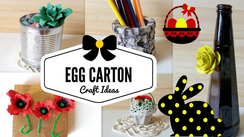 DIY Egg Cartons Crafts Ideas Hacks   Recycling Project Best out of Waste   by Fluffy Hedgehog