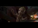 Танец малыша Грута. Вступительная сцена (Стражи Галактики 2017)