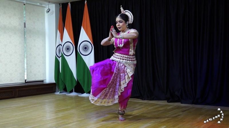 Концерт индийского танца Одисси. Исполняют Алпана Наяк и её ученица Вайшали Сайни (2018-08-07)