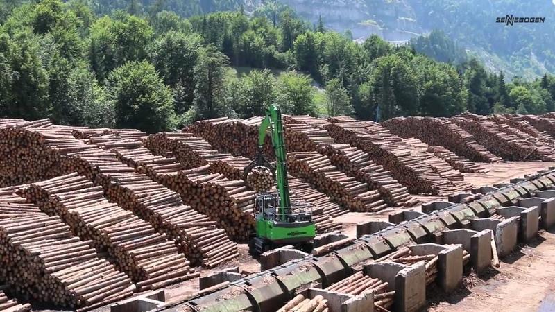 Sennebogen 735 Timber Handler Log Handling
