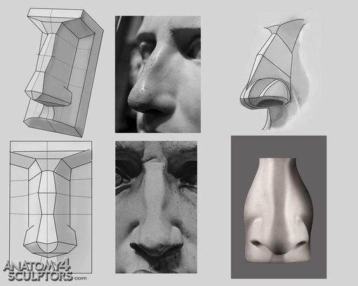 рисуем голову человека берн хогарт: