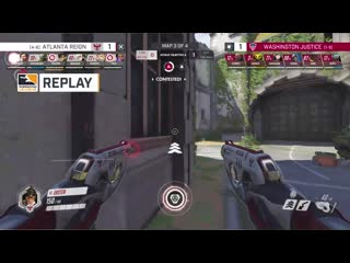 ERSTER hits a massive pulse bomb and kills all 6 of the Washington Justice