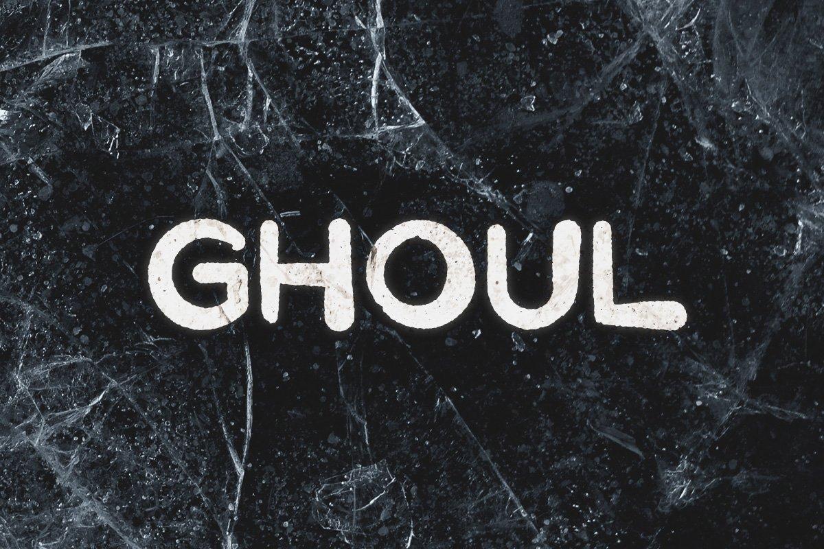 Шрифт - Ghoul