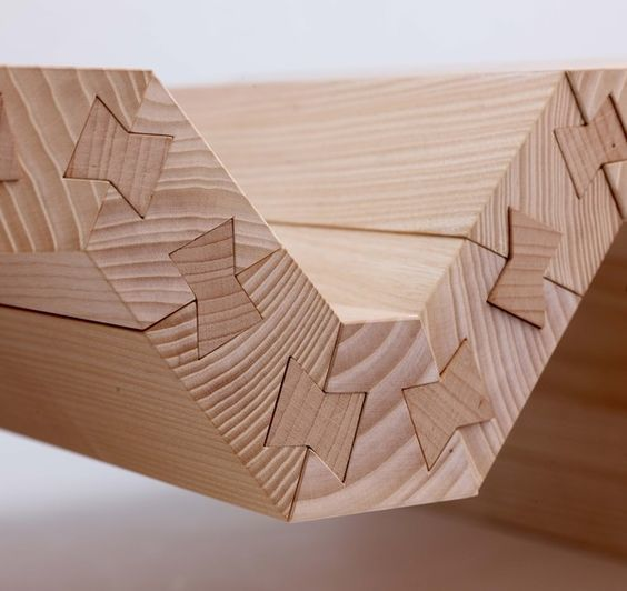 50 оттенков соединений древесины