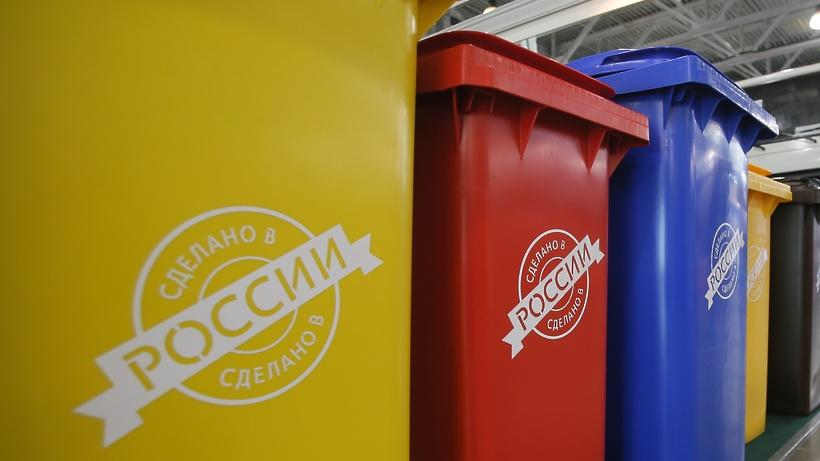 Машины разных цветов будут вывозить мусор в Дмитровском округе
