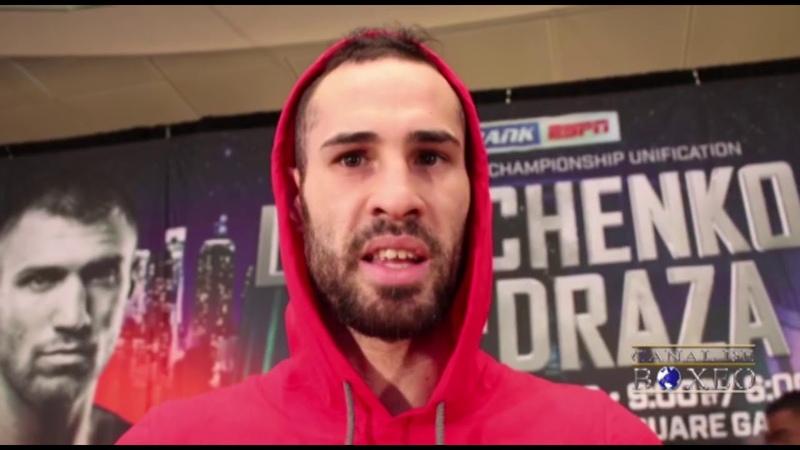 Jose Sniper Pedraza: Vimos varios errores en Lomachenko y trabajaremos en ellos