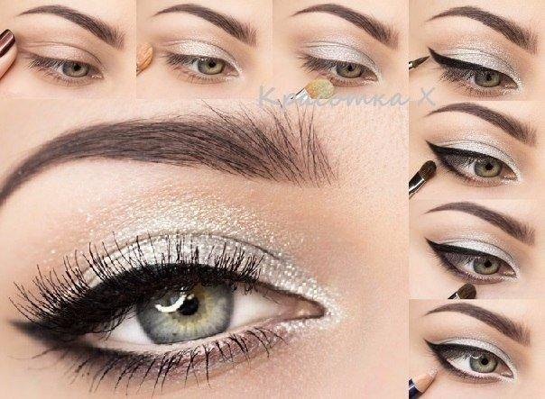 Пошаговый макияж (1 фото)