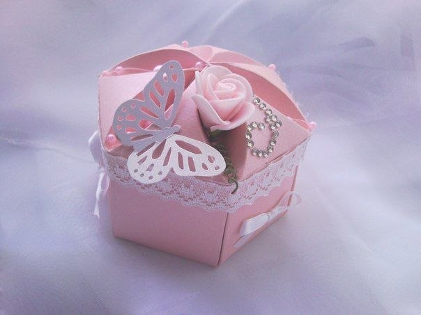 Делаем подарочные коробочки