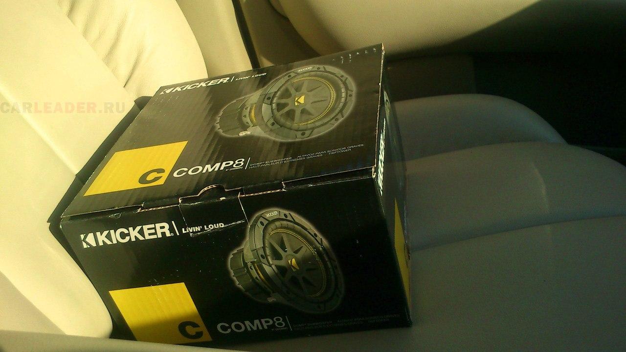Subwoofer Kicker Comp8 pack