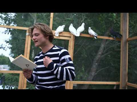 Евгений Ткачук читает стихотворение Александра Введенского Гость на коне
