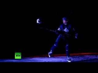 #ЧеканьЗаНаших: балерины, шахматисты и космонавты тоже любят футбол
