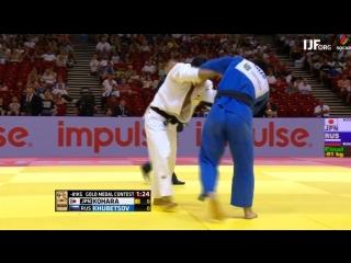 Judo Grand-Prix Budapest 2018 Final -81 kg KHUBETSOV Alan RUS-KOHARA, Kenya JPN