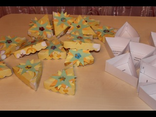 Мастер-класс: бонбоньерки или коробочки для конфет