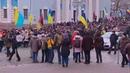 Марш сторонников Саакашвили в Киеве