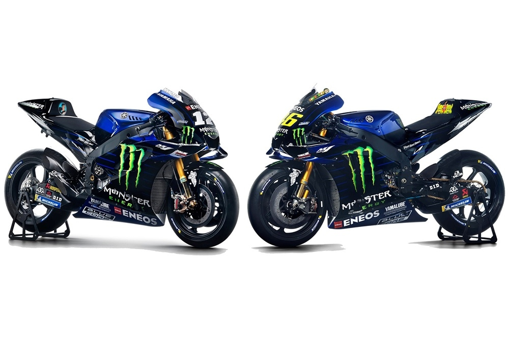 Презентация команды Yamaha Monster Energy 2019 (первый фото)