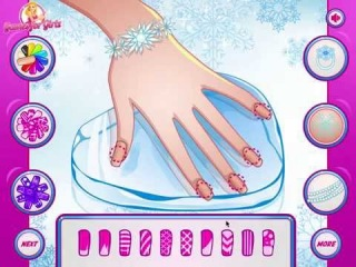 Игры Холодное Сердце Эльза Манекюр (Elsa Great Manicure)