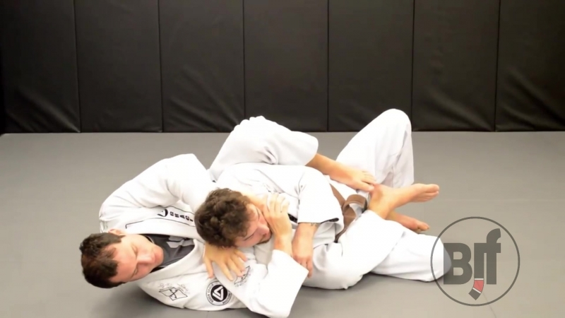 Roger Gracie - Ezequiel from the back техники_за_200