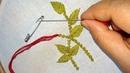 Hand Embroidery Sewing Hack To Make Tassels Using Safety Pin nakshi katha
