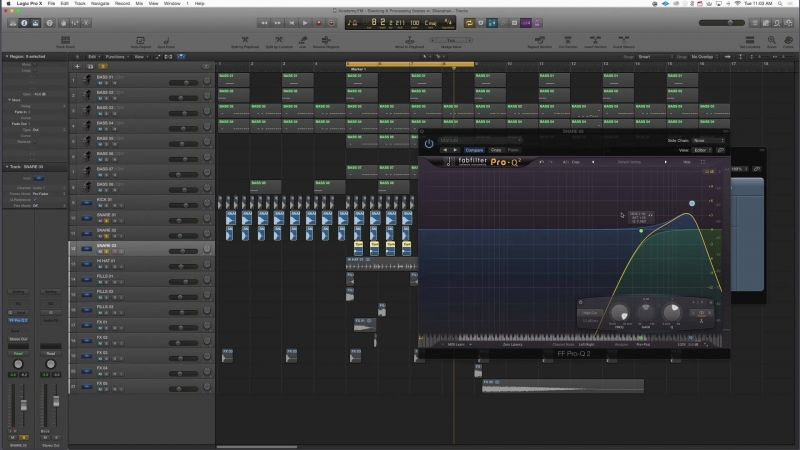 Academy.fm - Processing and Layering Multiple Snare Drums