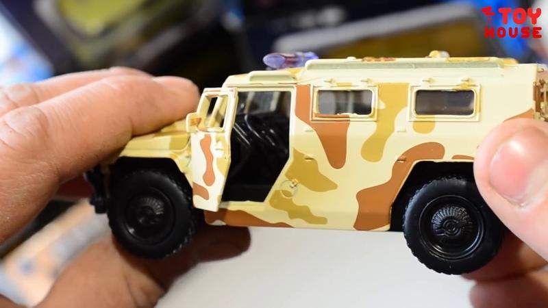 Распаковка и обзор ВОЕННЫХ МАШИНОК. Открываю много разных моделек машин военной техники.