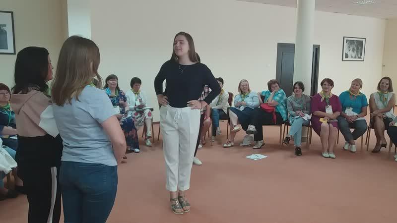 ЛШ 2019, мастер-класс Е.Смирновой