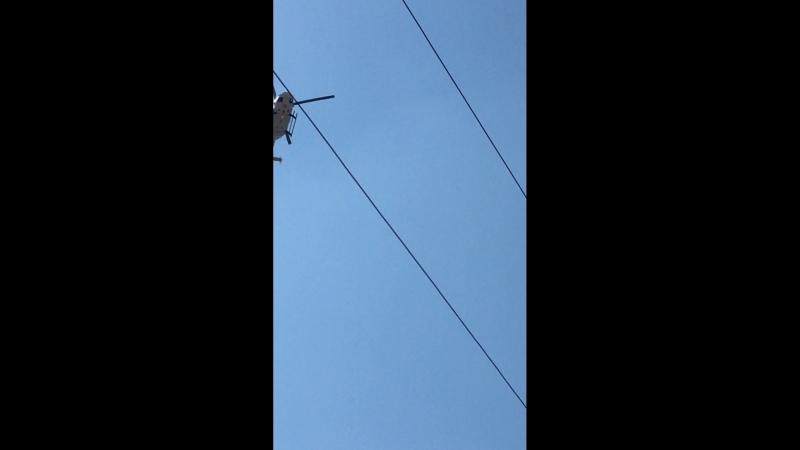 Вертолёт Евпатория