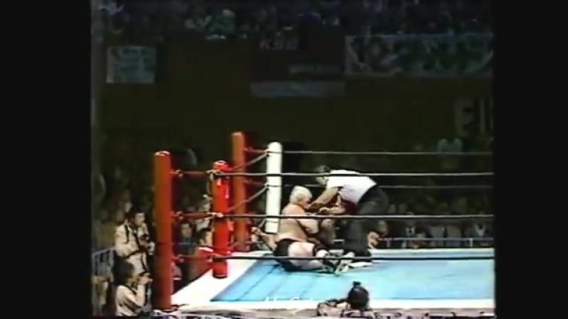 Antonio Inoki vs Dick Murdoch (1982)