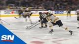 Nate Schmidt Cuts Through Boston Bruins Defence And Beats Halak