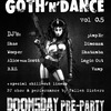 Goth'n'Dance vol. 0.5. DOOMSDAY pre-party