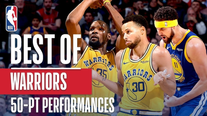 Best of Stephen Curry, Kevin Durant, and Klay Thompson's 50 Point Games | 2018-19 NBA Season