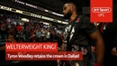The king is back! This is the Woodleyweight division! Tyron Woodley UFC 228 post-fight interview