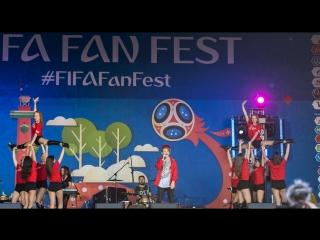Kain Rivers - FIFA Fan Fest 2018, Санкт-Петербург