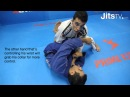Leg Drag to Pass Reverse De La Riva Half Spider Guard Bruno Frazatto Jits Magazine