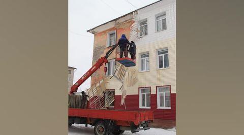 Вести.Ru: С дома в Свердловской области сдуло следы капремонта