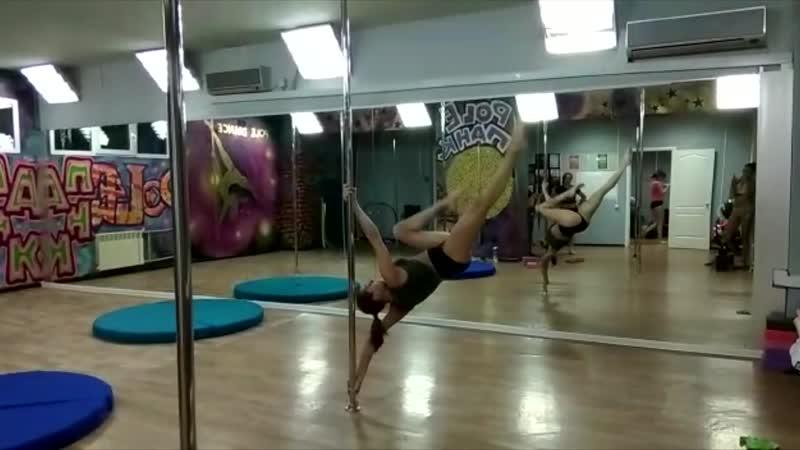 Рole acrobatic/Pole PANK Dance studio /Pole dance Омск