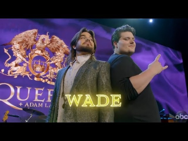 Wade Cota Sings We Are the Champions on Queen Night with Adam Lambert