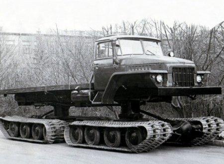 НАМИ-0157 – уникальный гусеничный грузовик