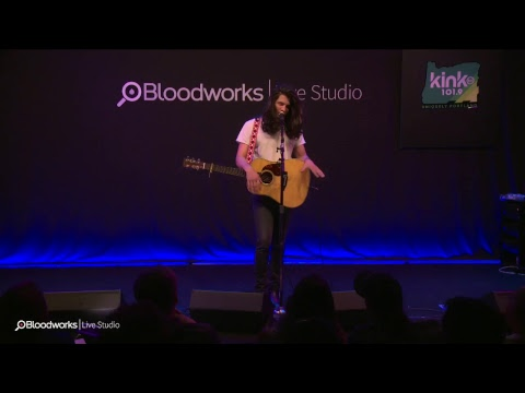 Billy Raffoul in the Bloodworks Live Studio