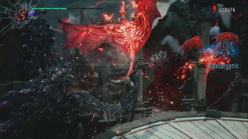 『デビル メイ クライ 5』ダンテプレイ動画:シームレスにスタイルと武 2