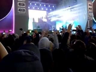 Мумий тролль на дне города в Екатеринбурге