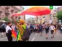 В Киеве после стычек с полицией задержаны 56 противников гей-парада