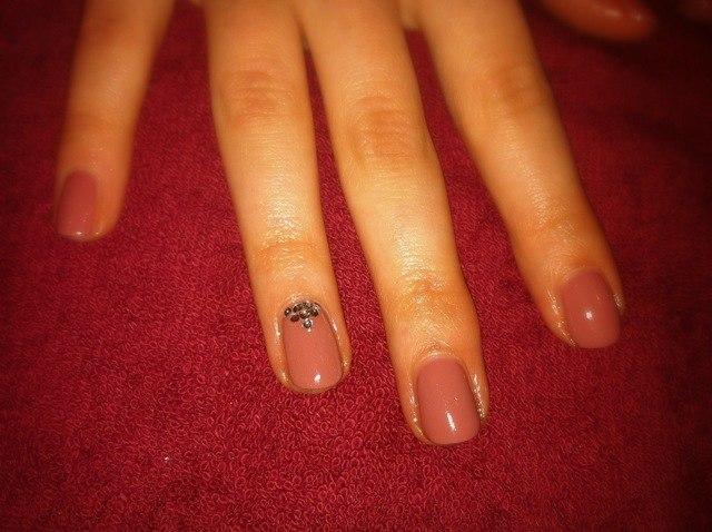 Покрытие гелем на свои ногтей фото
