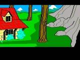 Atari ST Game King's Quest II Romance the Throne (1985 Sierra On-Line)