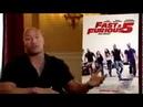 Fast Furious 5 Interview Paul Walker Dwayne The Rock