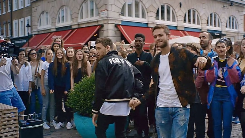 Getlow video with @zedd out now! thanks to all the fans that got involved