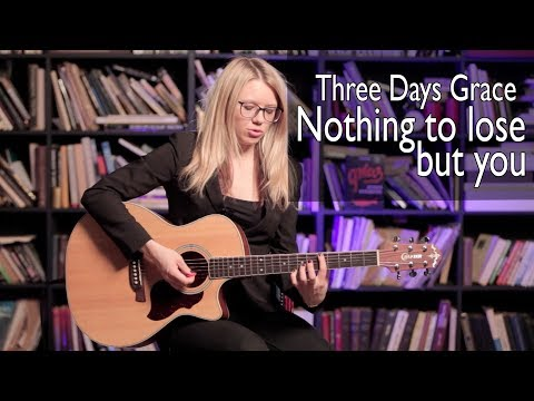 Как играть Three days grace Nothing to lose but you Разбор COrus Guitar Guide 71 cover